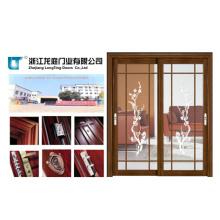 Porte de salle de bains en aluminium économique (LTA-319)