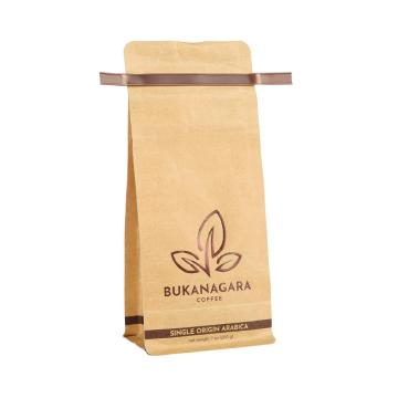 Bolsas de embalaje de café compostables biodegradables reciclables