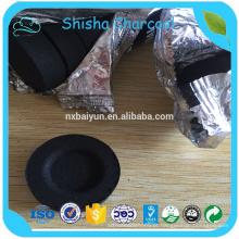 Melhor cachimbo preto / carvão para Shisha