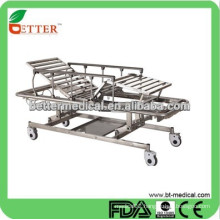 3-function Manual up/down emergency stretcher