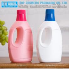 QB-LQ500 хорошее качество цвета настраиваемые большой сопла матовым закончить жесткий hdpe пластиковые пустая бутылка 500 мл