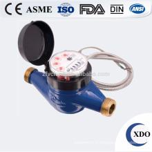 Compteur d'eau intelligent d'OPE-PDRRWM-15-25 vente chaude fonte pas cher