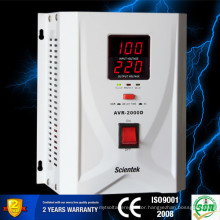 Ac Home Automatic Generator LED display Automatic Voltage Regulator 1500VA 900W