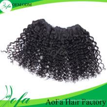 Extensão do cabelo Remy do Virgin do cabelo humano do preço de grosso