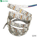 Nuevo diseño DC12V 60leds / m SMD5050 break-point 8208 ic luz de tira llevada flexible del pixel