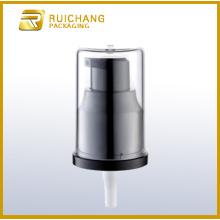 Plastic pump sprayer with AS overcap