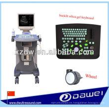 escáner de ultrasonido de carro Dispositivo para abdomen, tiroides, hígado, riñón, bazo, vejiga