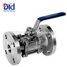 Schweiß-Schneckengetriebe geschweißt pneumatisch 2 Edelstahl Cf8m 1000 Wog Float 3-Zoll-Flanschkugelhahn Ss