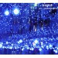 Lumière de boule de fibre optique synchrone LED personnalisée