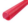 Sucção de hélice espiral PVC flexível e mangueira de descarga
