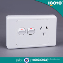 Australia Standard Single Powerpoint Socket with Extra Switch SAA Approved
