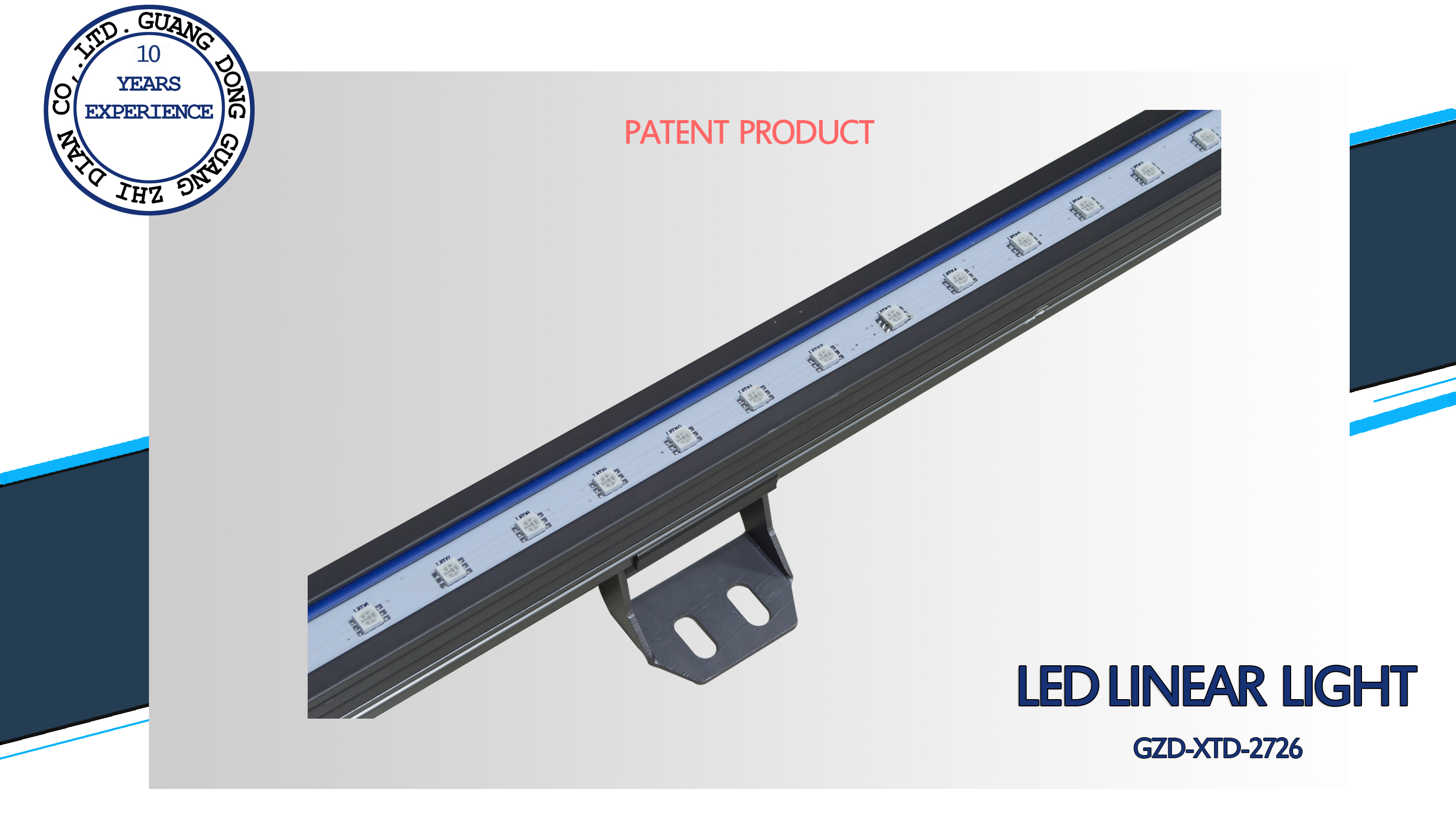 RGB led linear light