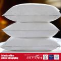 Almohada de microfibra con tubería para uso doméstico / del hotel