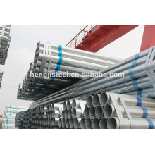 Q195 galvanized ERW steel pipes specification