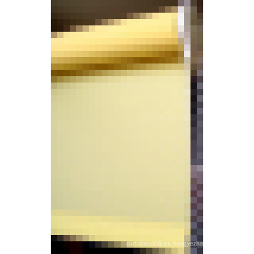 Persiana manual de rodillo de tela colorida con riel de aluminio para Windows