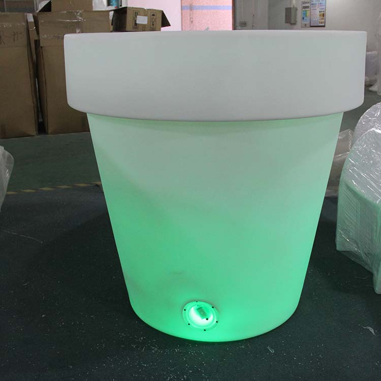 Outdoor Large Led Flower Pot