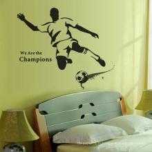 Divers autocollants démontables d'art de mur de vinyle décoratif durable promotionnel