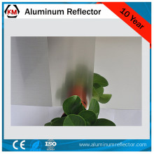 fluorescent light diffuser aluminum panel