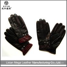 ZF5661 оптовые зимние люди моды новейшие кожаные перчатки