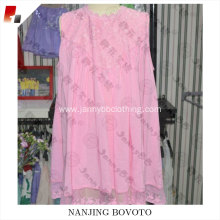 pink party dress viscose fabric dress