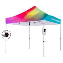 Outdoor even pop up trade show aluminium folding tent with sanitizer dispenser