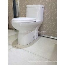 CB-9520 CUPC double chasse en céramique wc auto nettoyage toilettes USA water placard