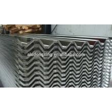 Folha / chapa de alumínio ondulado 3003