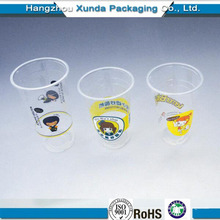 Gobelets en plastique jetables pour jus