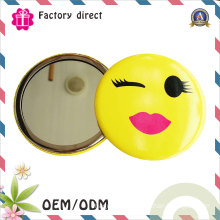 Hot Sale Cheap Promotion Gift Metal Makeup Mirror Personalized Pocket Mirror