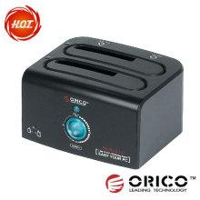 ORICO 8628 US3-C 2 bay HDD docking station,USB 3.0,Hard drive hard disk duplicator HDD clone