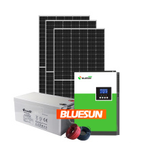 Bluesun complete service off-grid solar power system 5kw 10kw household solar system