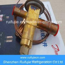 Válvulas de expansión termostáticas Danfoss R404A / R507 / R22 / R134A Ten2