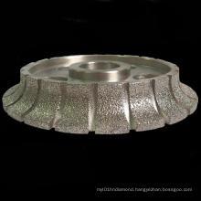 Vacuum Brazed Granite Profiling Wheel
