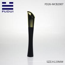 Frasco cosmético luxuoso do mascara / mascara com escova do silicone para a venda por atacado