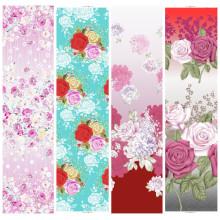 Blume Design gedruckten 100 % Polyestergewebe