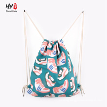 Good price customized canvas backpack bag