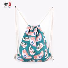 Хорошая цена подгонянные холст рюкзак сумка