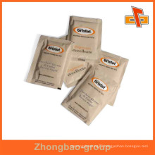 food grade gravure printing aseptic paper moisture proof sugar sachet with your design