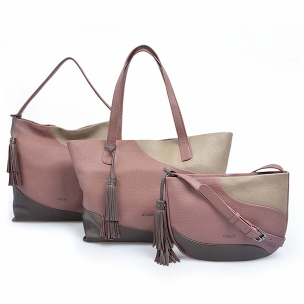 Simple oversized genuine leather ladies sling bag hobo bags