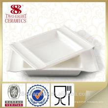 Wholesale utilisé vaisselle de restaurant, ensemble de vaisselle en céramique