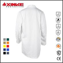 abrigo de médico de algodón para el hospital