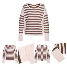 Long Sleeves Women Cashmere Knitted Pullover
