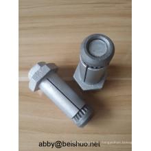 M12 Carbon Steel Hot Galvanized Boxbolt Blindschrauben