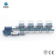 Machine automatique de ligne d'emballage de tissu de textile