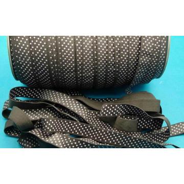 Venta caliente pliegue sobre cinta de lazo/venda/del pelo pelo elástico