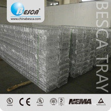 Besca Manufacture Zinc Plated Wire Mesh Cable Tray Pieces With Certificate