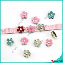 Petites charmes de fleur pour les bijoux de bracelet d'enfants (SC16040961)