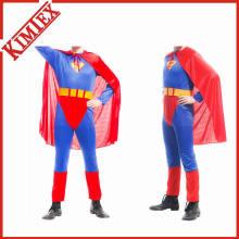 100% Polyester gedruckt Festival Erwachsene Superman Cape