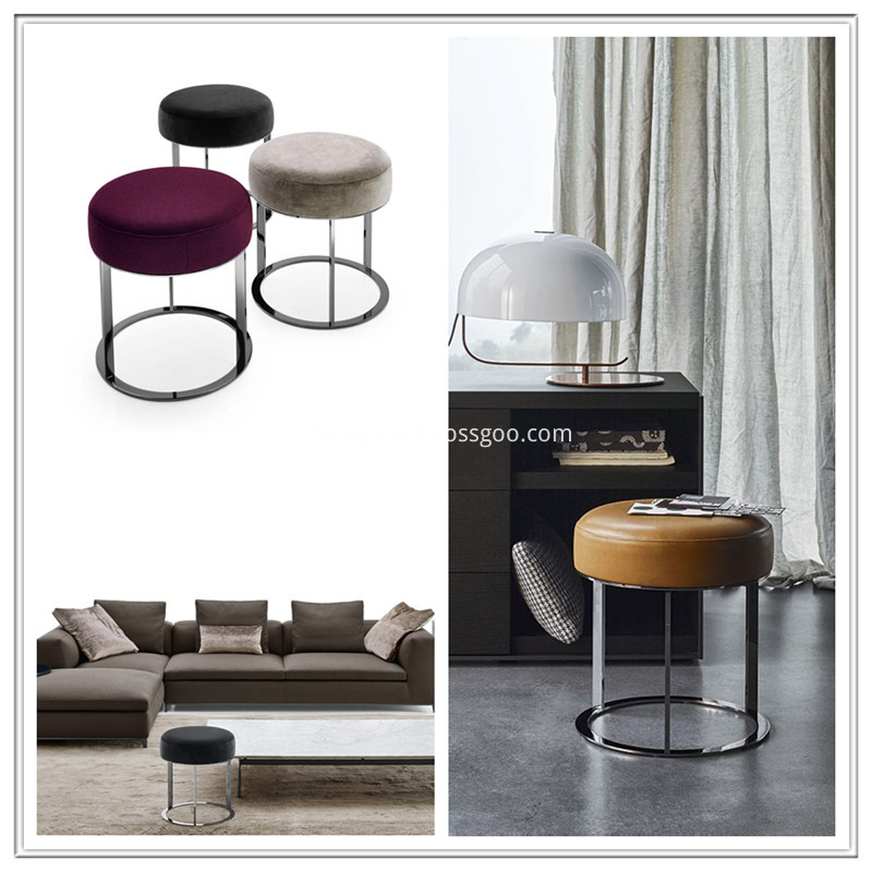 Modern Fabric stool