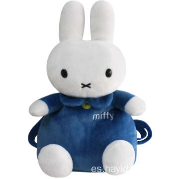 Popular mochila suave Miffy Rabbit